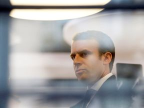 Emmanuel Macron is the frontrunner for the French presidency
