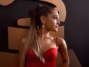 LOS ANGELES, CA - FEBRUARY 15: Singer Ariana Grande attends The 58th GRAMMY Awards at Staples Center on February 15, 2016 in Los Angeles, California. (Photo by Larry Busacca/Getty Images for NARAS)