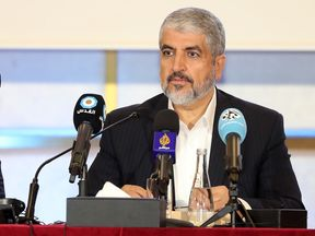 Khaled Meshaal unveiled the new charter in Doha on Monday