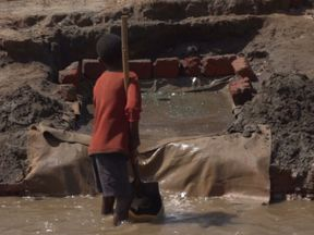 Young children are still being forced to work long hours in cobalt mines in the DRC