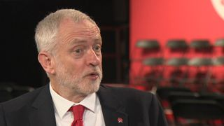 Jeremy Corbyn sets out his party's view on Europe
