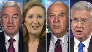 John McDonnell, Suzanne Evans, Vince Cable, Michael Fallon