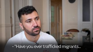 Salam Aldeen has been accused of people smuggling but he says he was helping save migrants