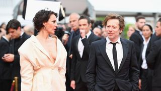 Actress Jeanne Balibar and actor Mathieu Amalric of 'Barbara'