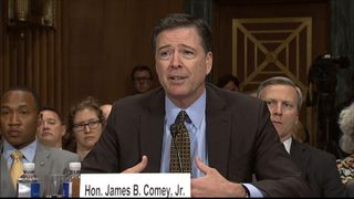 FBI director James Comey called the decision one of 'the world's most painful'