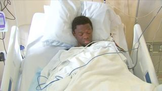 Bampumim Teixeira is charged with murder while in his hospital bed