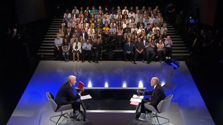 The studio audience for The Battle For Number 10