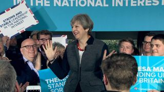 The Prime Minister takes the Conservative Party's message around the country