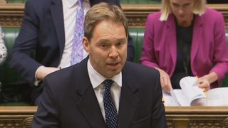 Tobias Ellwood speaks in the House of Commons