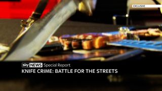 Exclusive Special Report: Knife Crime, Battle For The Streets