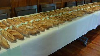 Baguettes in line for the honour of Paris' best