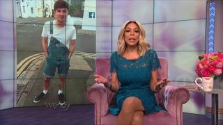 Talkshow host Wendy Williams paid tribute to Martyn Hett who had been due to visit the show