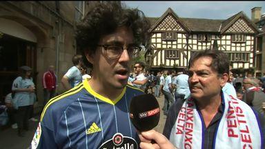 Vigo fans confident in Manchester