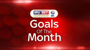 Championship - Goal of the Month – April 2017