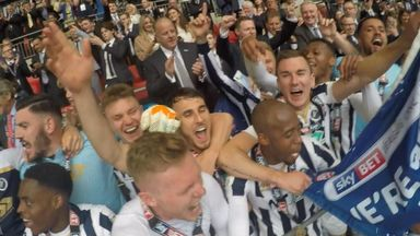 Millwall celebrate in style