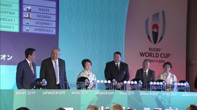 Rugby World Cup 2019 draw