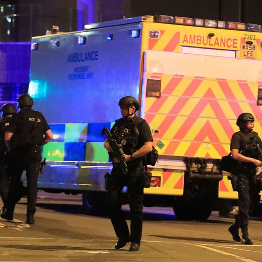 Manchester Arena attack: Fire service 'failed'
