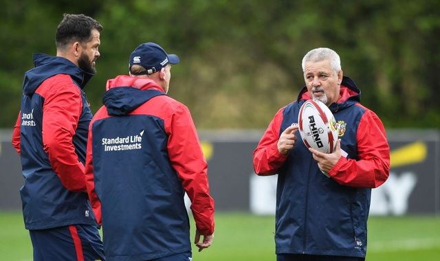 Warren Gatland admits 'informal conversations' over coaching British and Irish Lions again in 2021