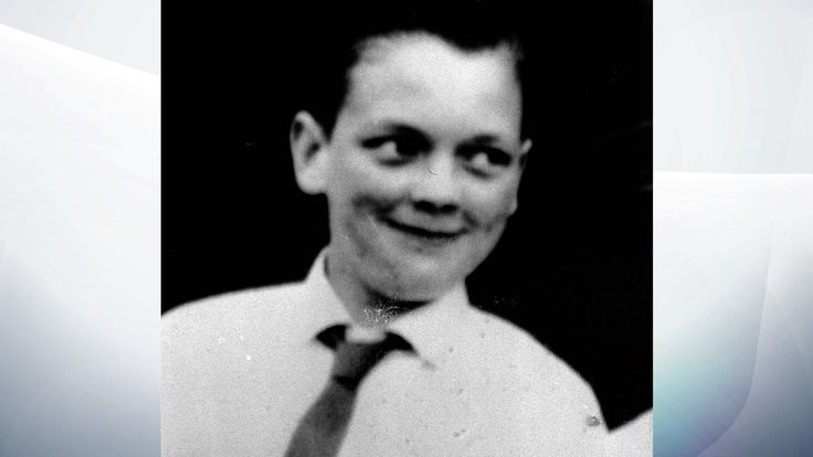 John Kilbride, one of the victims of the Moors murderers Ian Brady and Myra Hindley