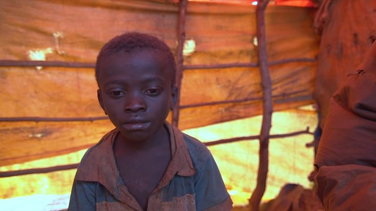 Dorsen was afraid of leaving his father alone at the mine in Katanga Province