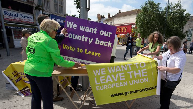 Clacton voted 70% to leave the EU
