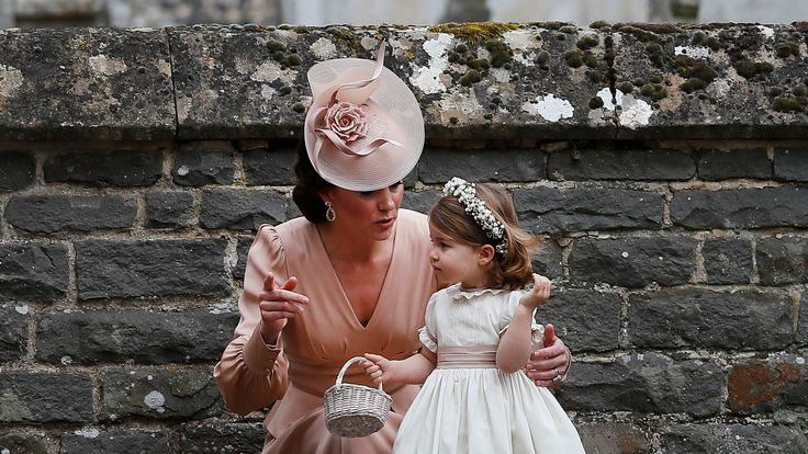 Kate and her daughter Princess Charlotte