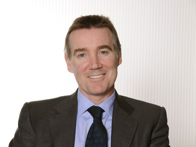 Undated handout file photo issued by ITV of Adam Crozier, who has stepped down after seven years at the helm of ITV as the broadcasting giant unveiled a top-level shake-up.