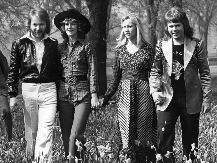 Abba were one of the most successful bands of the late 70s