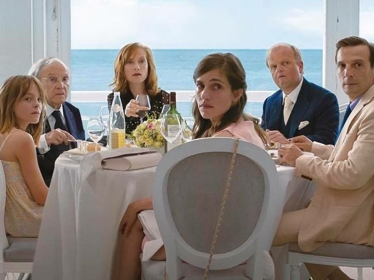 Isabelle Huppert in Michael Haneke's Happy End