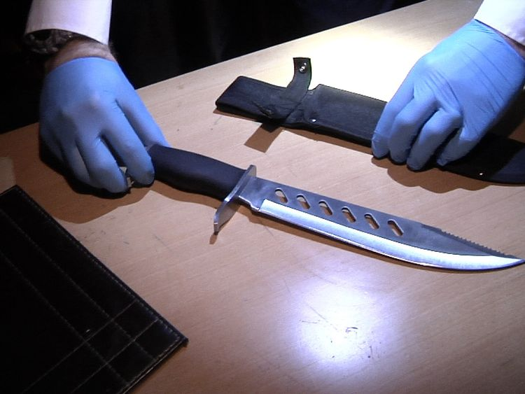 300 knives were seized in seven days by officers across London