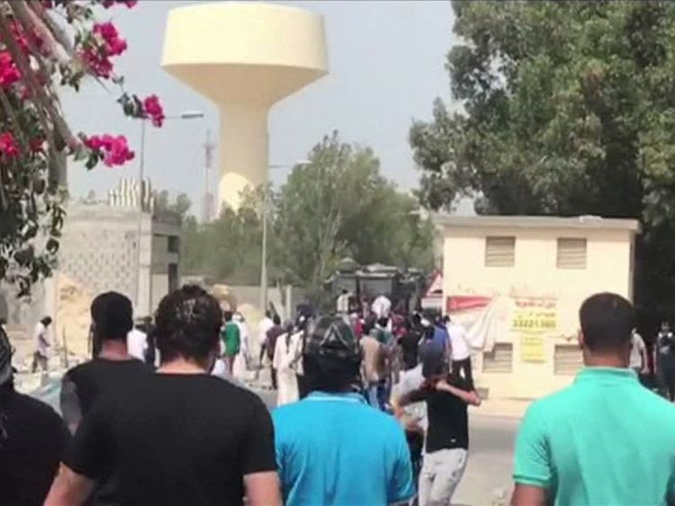 Bahrain protesters confront security forces in Diraz