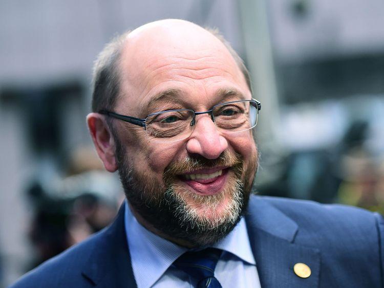 Martin Schultz was president of the European Parliament until this year