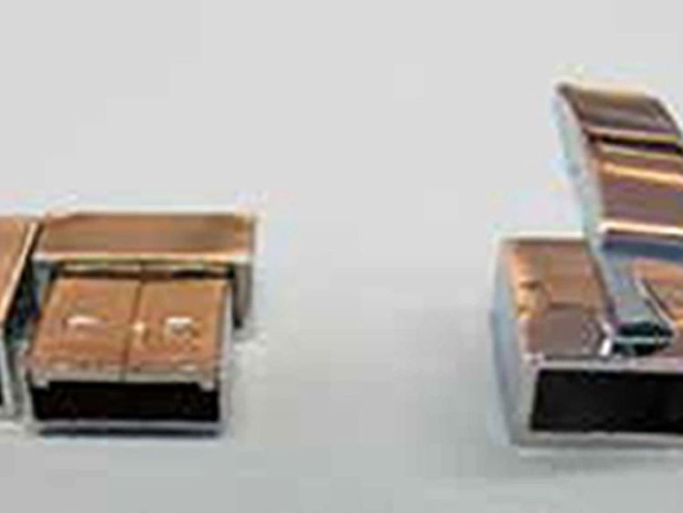 One of the usb cufflinks seized by police