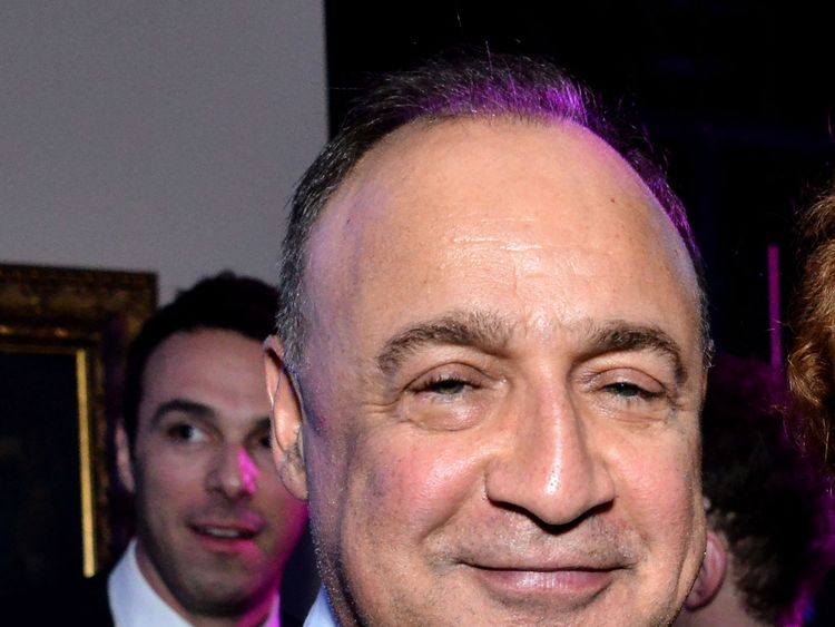 Len Blavatnik's businesses include Warner Music Group