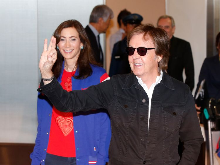 McCartney and wife Shevell remain at the top of the British Music Millionaires list