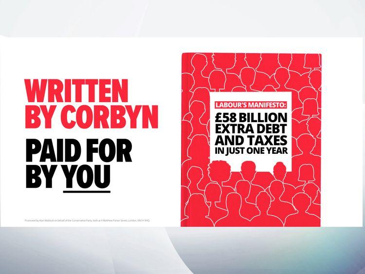 Conservative response to Labour manifesto