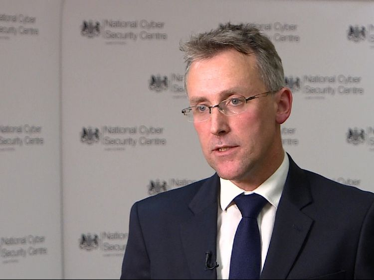 Ciaran Martin, the National Cyber Security Centre's chief executive