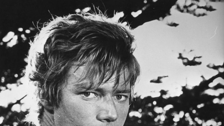Parks starring as Adam in the Garden of Eden in a 1960s film