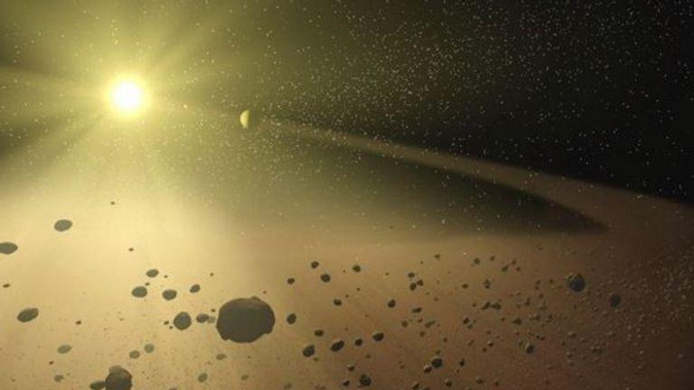Artist drawing by NASA/JPL-Caltech/T. Pyle