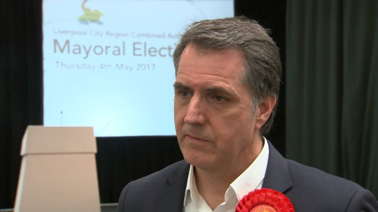 Steve Rotheram has become Liverpool Mayor