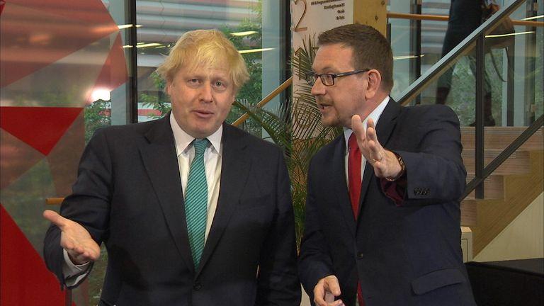 Boris Johnson and Andrew Gwynne locked horns