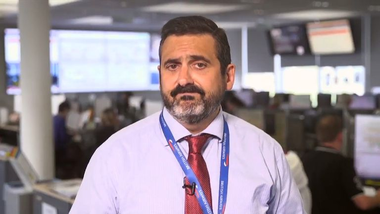 Alex Cruz, BA chairman and CEO, apologised to customers in a video message on Twitter