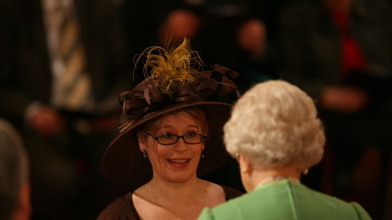 Natalie Ceeney is made a CBE by the Queen in 2010