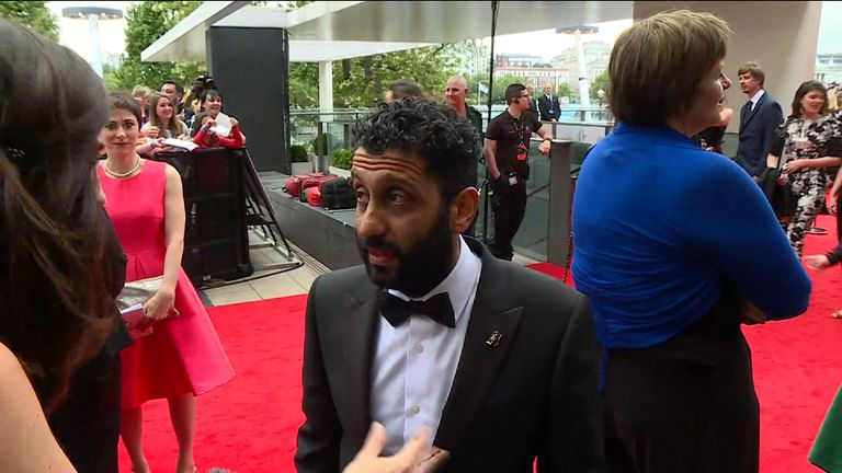 Adeel Akhtar, nominated for Leading Actor for Murdered By My Father