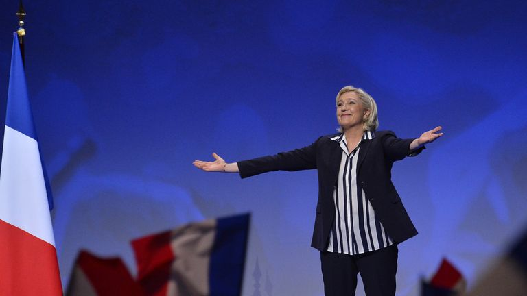 Marine Le Pen won twice as many votes as her father