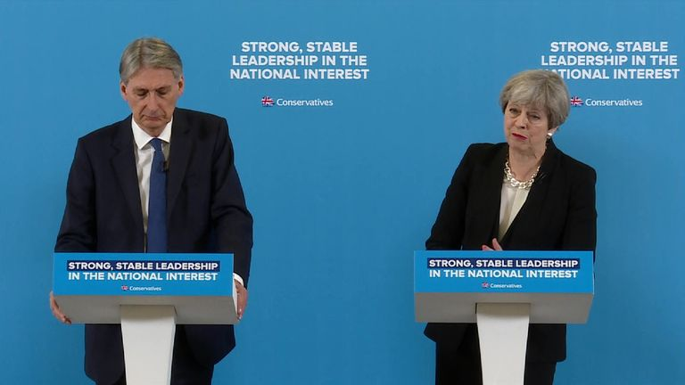 Theresa May fields another question on the cost of living