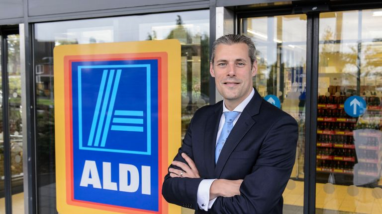 Aldi's UK and Ireland chief executive Matthew Barnes outlined huge growth plans