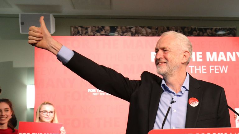 Jeremy Corbyn has claimed his party is 'under attack' for standing up to corporate interests
