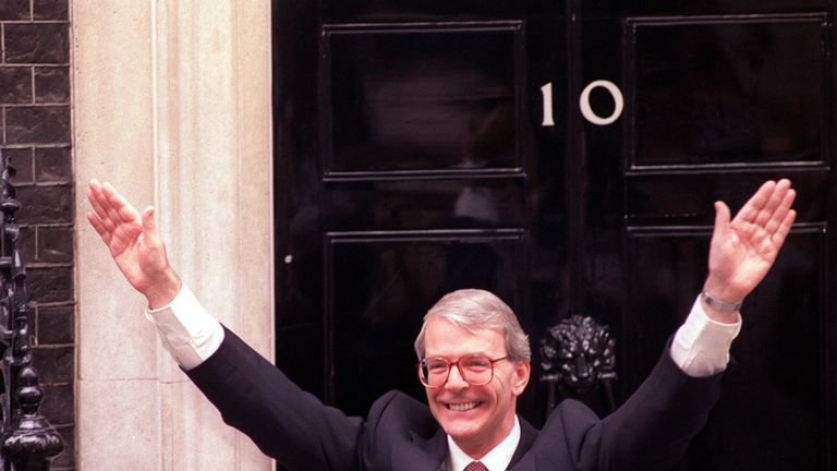 John Major won a majority of 21 in his surprise victory of 1992, but his government was easily derailed