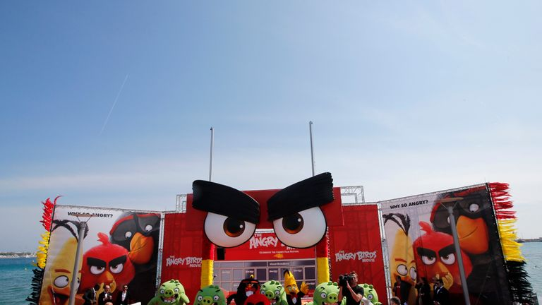 Last year, Sony brought Angry Birds to the Croisette before the festival